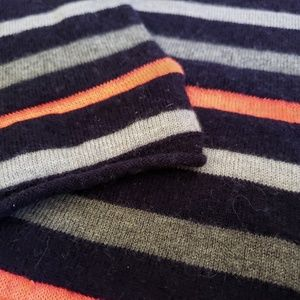 GAP Sweaters - 3/$25 Gap neon stripe sweater